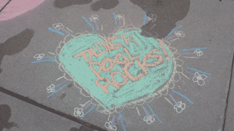 FDL Taylor Park - 2016 Chalk Drawings2