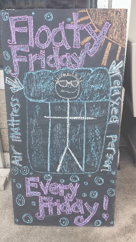 FDL Taylor Park - Floaty Friday